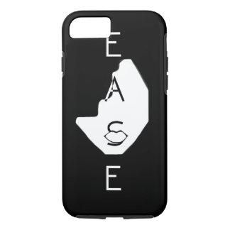 "iPhone 7 Tough ""Ease"" Phone Case (Black)"