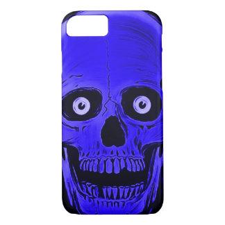 iPhone Skully Skull Horror Blue Skull Case