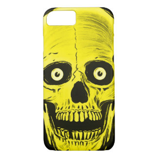 iPhone Skully Skull Horror Golden Skull Case