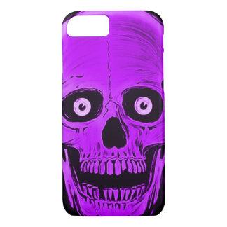 iPhone Skully Skull Horror Purple Skull Case