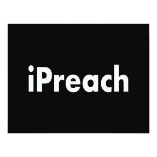 iPreach 11 Cm X 14 Cm Invitation Card