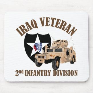 Iraq Vet 2nd ID - Humvee Mouse Pad