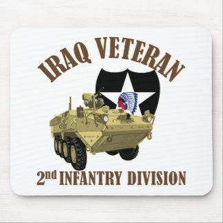 Iraq Vet 2nd ID Stryker Mouse Pad