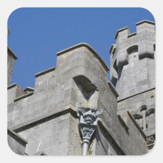 Ireland, County Kilkenny, medieval castle. Square Sticker