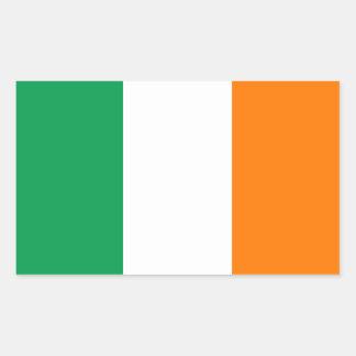 Ireland/Irish Flag Rectangular Sticker