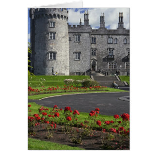 Ireland, Kilkenny. View of Kilkenny Castle. Greeting Card