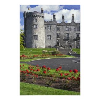 Ireland, Kilkenny. View of Kilkenny Castle. Photographic Print