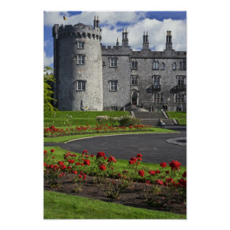 Ireland, Kilkenny. View of Kilkenny Castle. Poster