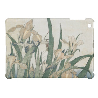 Iris Flowers and Grasshopper, c.1830-31 Case For The iPad Mini