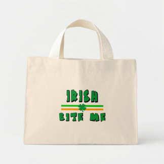 Irish Bite Me Mini Tote Bag