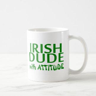 Irish Dude With Attitude Basic White Mug