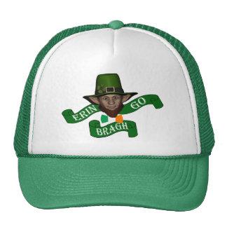 Irish Erin go bragh  St Patrick's day Cap