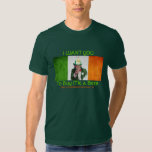 Irish Firefighter Uncle Sam Tshirt