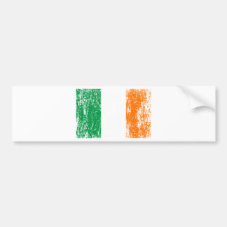 Irish Flag Drinking Team Bumper Sticker