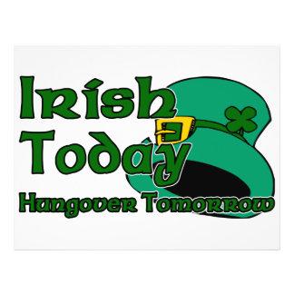 Irish Hangover 21.5 Cm X 28 Cm Flyer