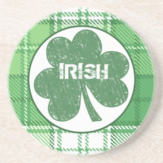Irish Plaid coaster