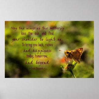 Irish Proverb Motivational Poster