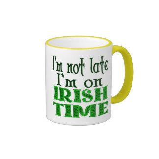 Irish Time Funny Coffee Mug