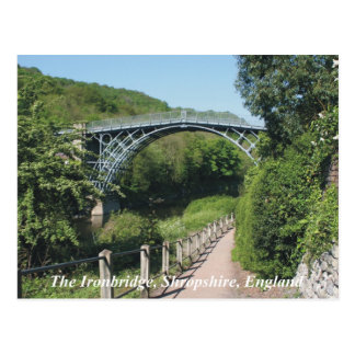 Ironbridge England Postcard