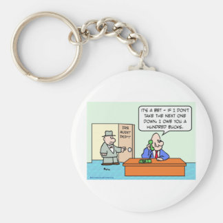 irs taxes bet hundred bucks basic round button key ring