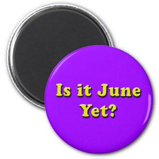 Is it June? (Yellow) Magnet