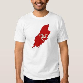 Isleofman flag map tshirts