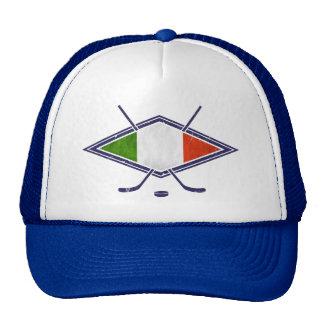 Italia Italian Ice Hockey Trucker Hat Cap