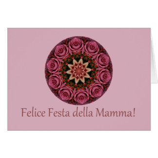 italian Happy Mother's Day! Greeting Card