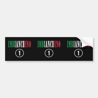 Italian Painters : Imbianchino Numero Uno Bumper Sticker