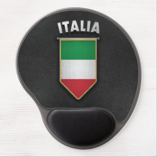 Italy Pennant with high quality leather look Gel Mouse Pad