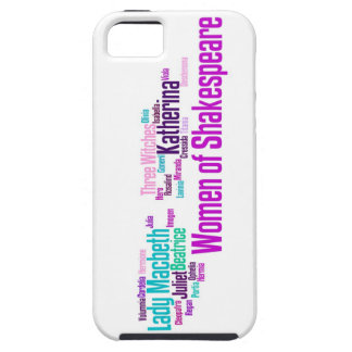 Items inspired by the women of Shakespeare's stori iPhone 5 Case