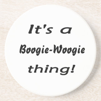 It's a boogie-woogie thing! beverage coasters