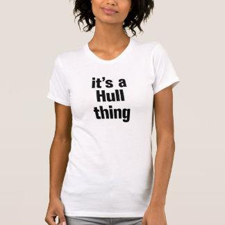 its a hull thing tee shirt