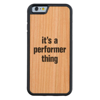 its a performer thing cherry iPhone 6 bumper case