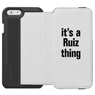 its a ruiz thing incipio watson™ iPhone 6 wallet case