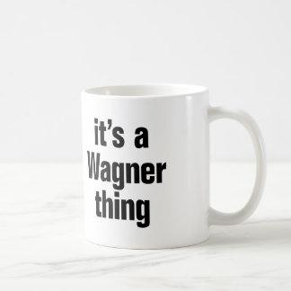 its a wagner thing basic white mug