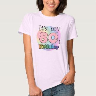 It's my 80th Birthday (wink) Shirts