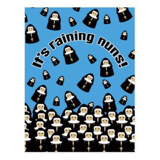 It's Raining Nuns Postcard
