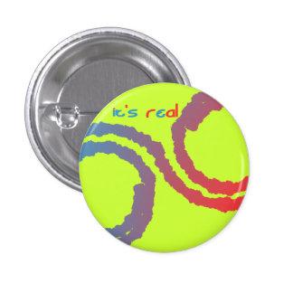 it's real 3 cm round badge