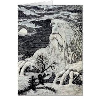 """""""Jack Frost"""" Vintage Illustration Greeting Card"""