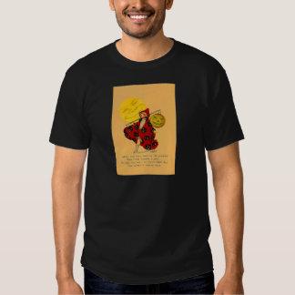 Jack O Lantern Pumpkin Man In The Moon Girl T-shirt