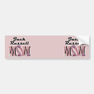 Jack Russell MOM Bumper Sticker