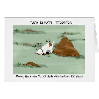 Jack Russell Terrier Greeting Card