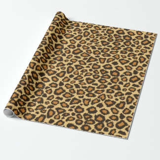 Jaguar Animal Print Wrapping Paper