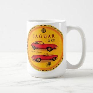 Jaguar cars Xke e-type Basic White Mug