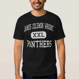 James Colemon Wright Panthers Middle Madison T Shirt