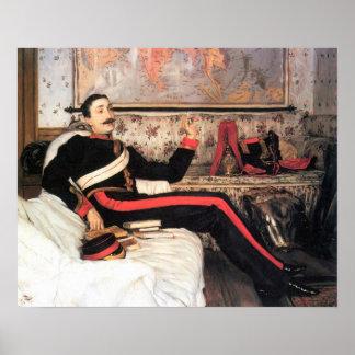 James Tissot - Colonel Frederick Gustavus Burnaby Poster
