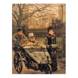 James Tissot Warrior's Daughter Father's Day Postcard