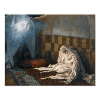 """James Tissot's """"The Annunciation"""" Poster"""