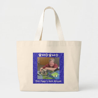 Jan and Elvis Jumbo Tote Bag